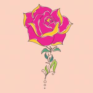 Como Desenhar Uma Rosa Tatoo Arte E Cia Brasil Brincando E