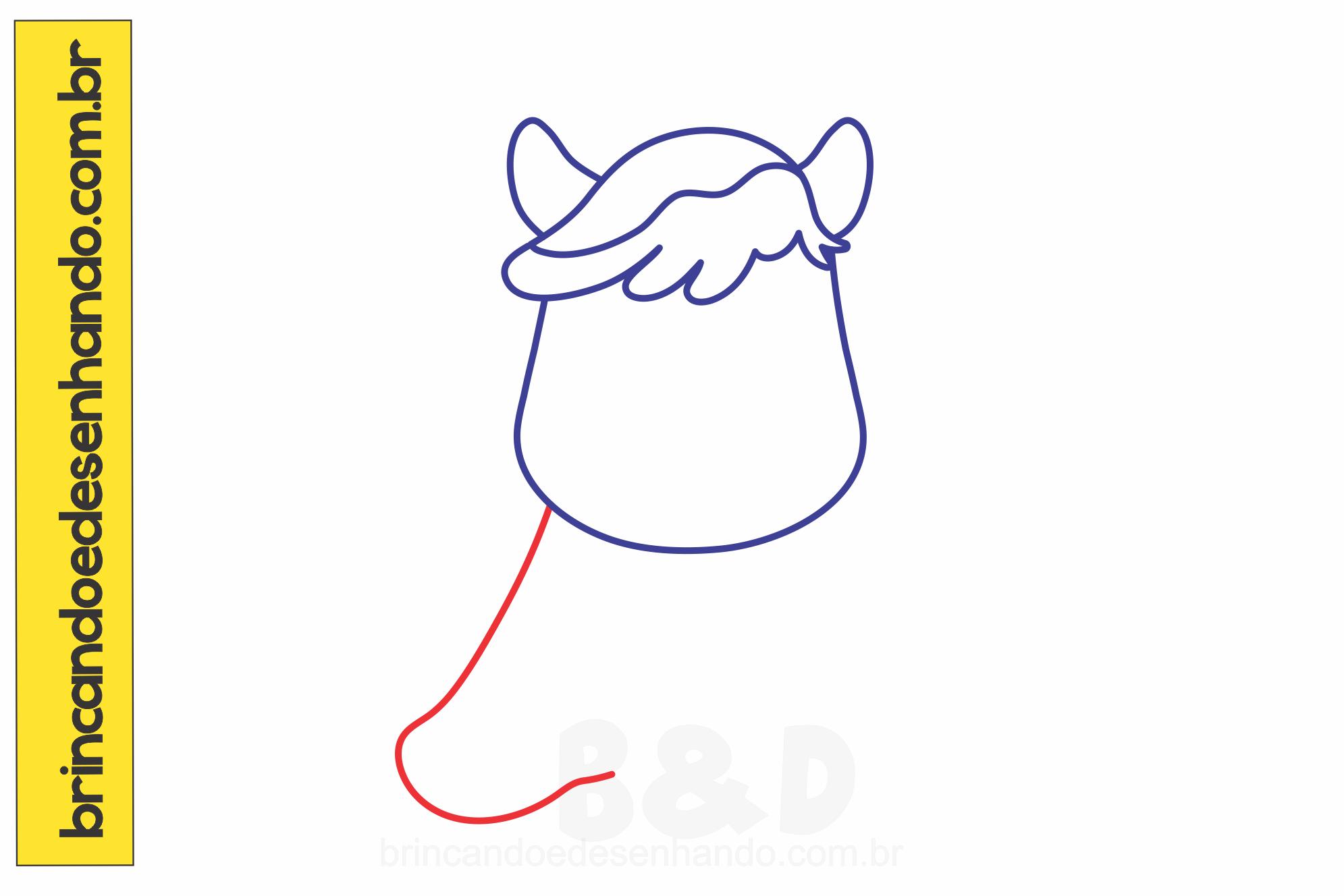 Como Desenhar Unicórnio Passo A Passo Brincando E Desenhando