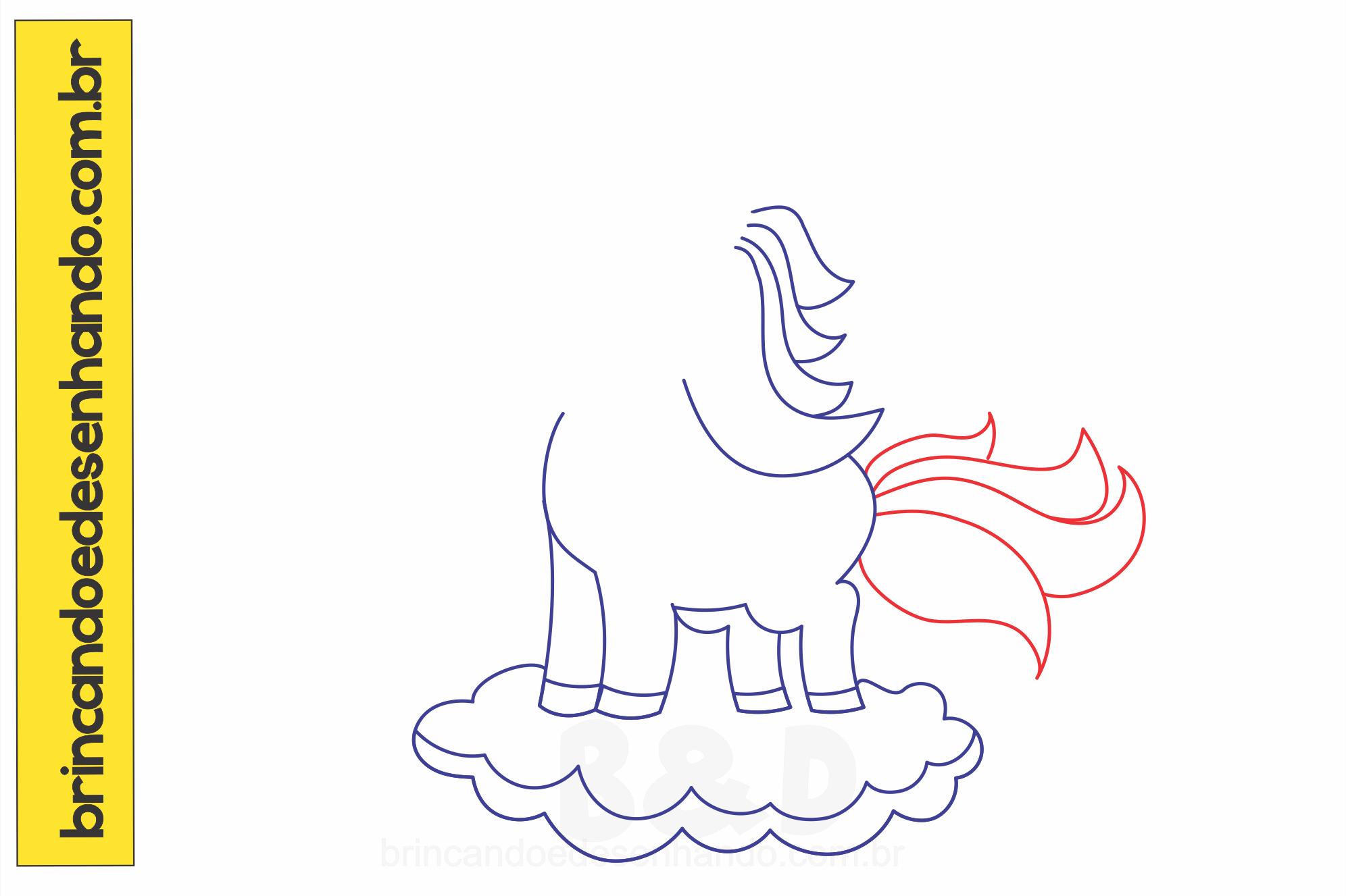 Como Desenhar Um Unicornio Passo A Passo Brincando E