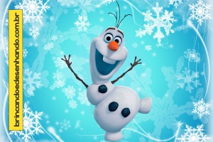 Como Desenhar Olaf Filme Frozen Brincando E Desenhando