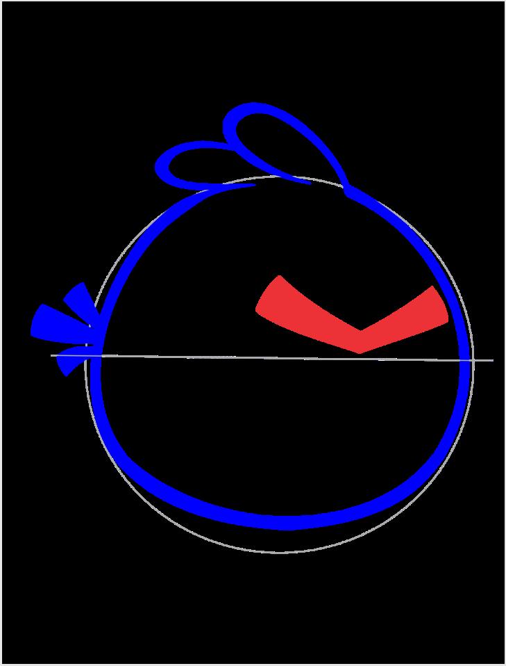 Como Desenhar Angry Bird Red Passo A Passo Arte E Cia Brasil