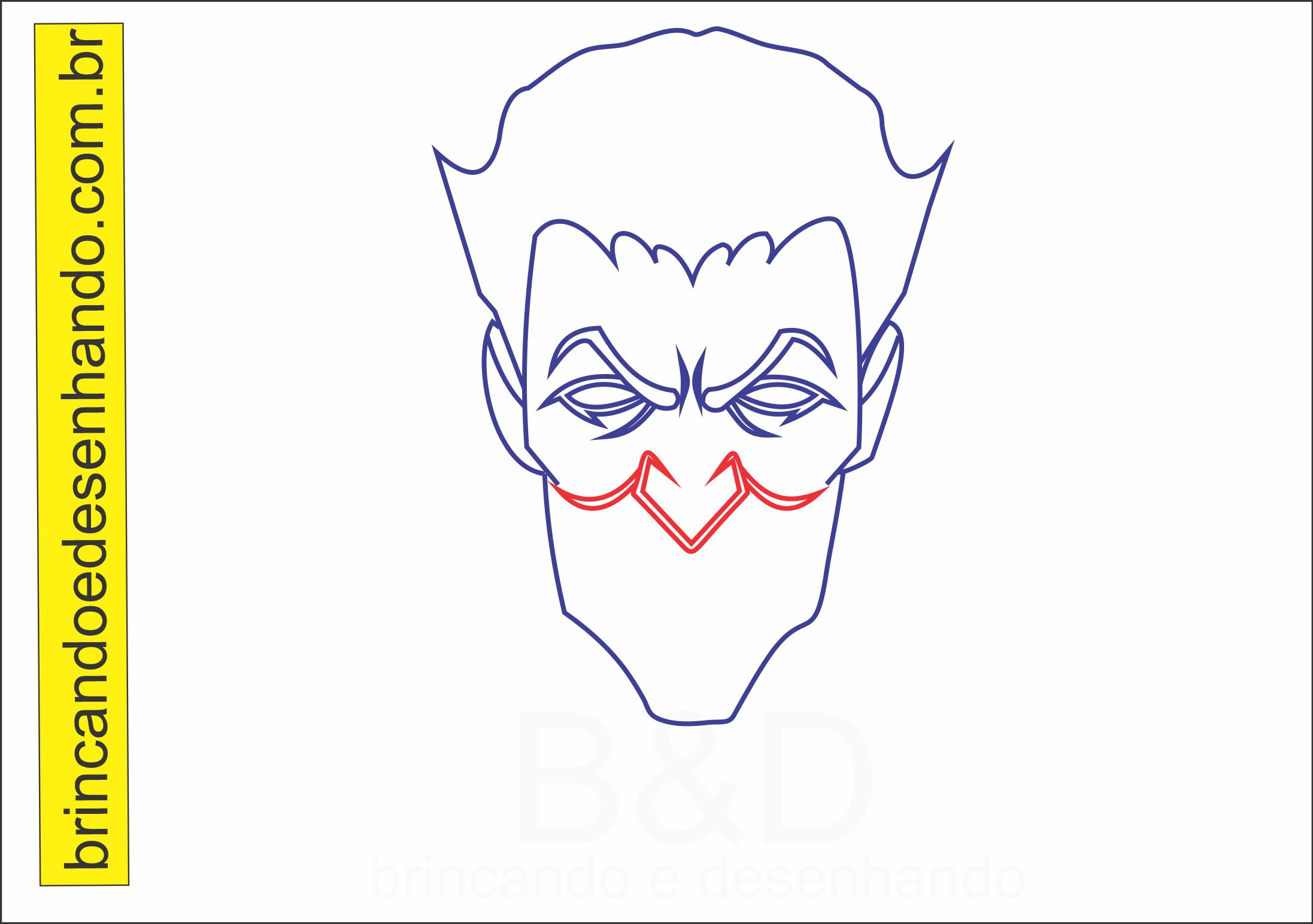 Como Desenhar O Joker Coringa Do Batman Brincando E Desenhando