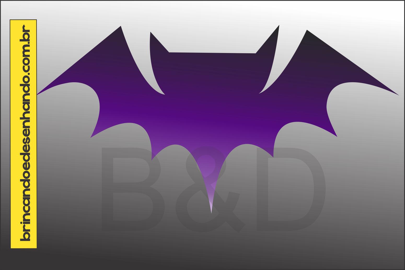 Como Desenhar Um Morcego De Halloween Brincando E Desenhando
